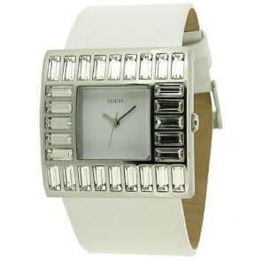Guess Watch W11524L4 Jewelry Strap Leather Woman