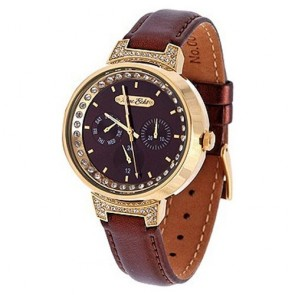 Marc Ecko Watch The Rush E15073L1 Leather Woman