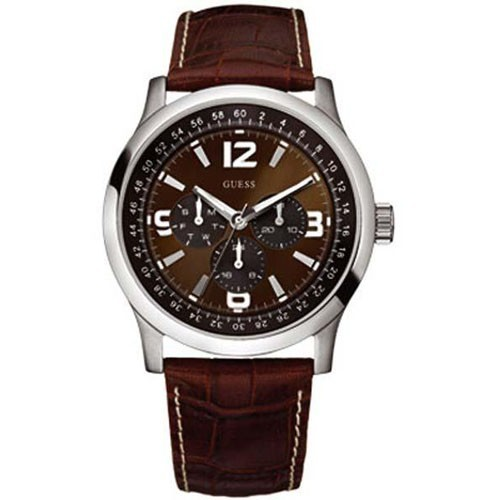 Guess Watch W95063G2 Multifuntion Strap Leather Man