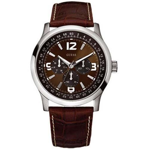 Reloj Guess W95063G2 Multifuncion Correa Piel Hombre