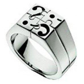 Anillo Moschino MJ0168 I Love Puzzles Talla 21mm