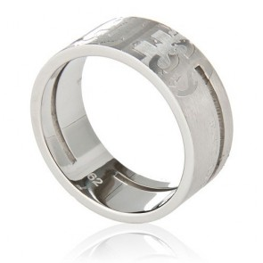 Guess UMR11102-62 Ring Homme Taille 22