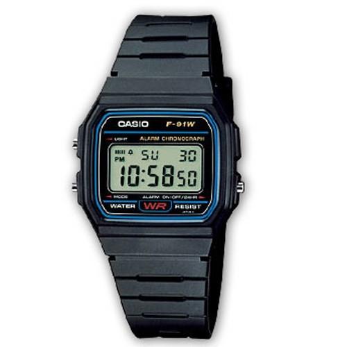 Uhr Casio Collection F-91W-1YER
