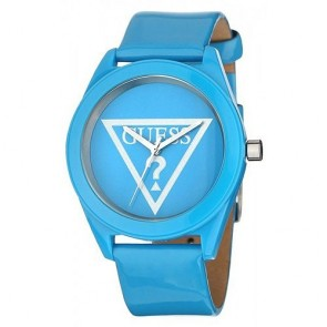 Uhr Guess W65014L4 Lip Gloss Lederband Damen
