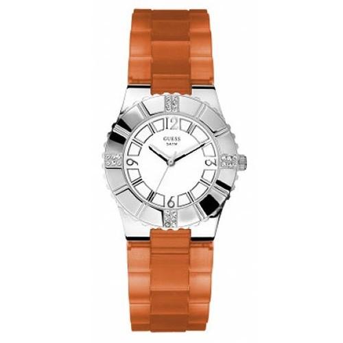 Reloj Guess W95087L2 Glow Correa Caucho Mujer
