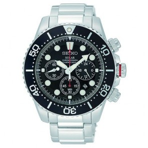 Reloj Seiko Solar Divers SSC015P1 Acero Hombre