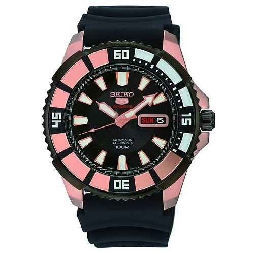 Reloj Seiko Neo Sports SRP210K1 Automatico Caucho Hombre