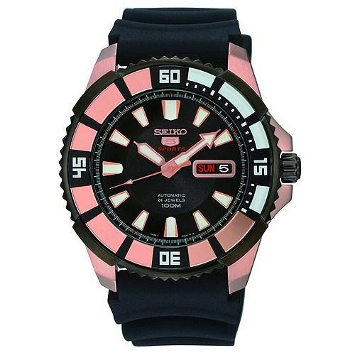 Uhr Seiko Neo Sports SRP210K1 Automatische Gummi Herren
