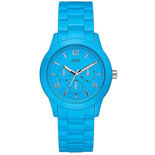 Guess Watch W11603L5 Multifuntion Resin Woman