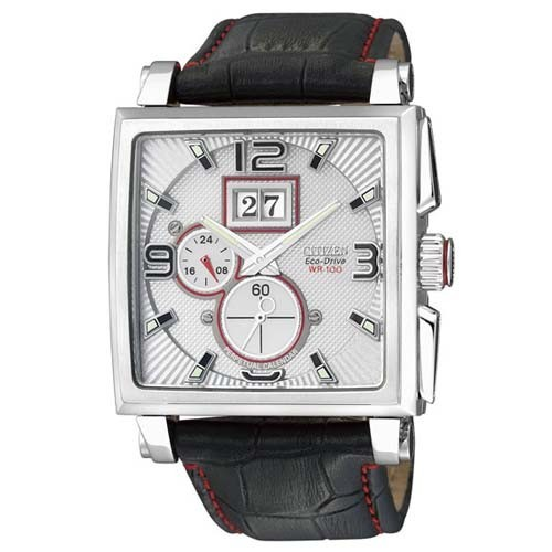 Citizen Watch Eco Drive 3D Perpetual BT0071-09A Leather Man