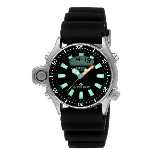 Citizen Watch Aqualand JP2000-08E Rubber Man