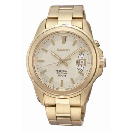 Reloj Seiko Neo Classic SNQ134P1 Calendario Perpetuo Hombre