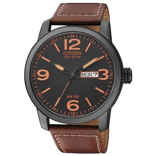 Citizen Watch Eco Drive Urban BM8476-07E Leather Man