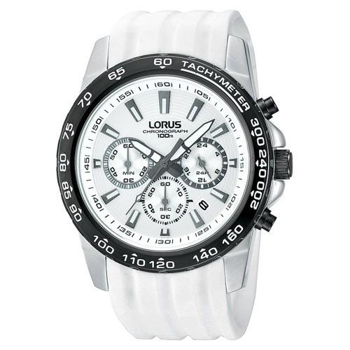 Reloj Lorus Sport RT319BX9 Cronografo Caucho Hombre