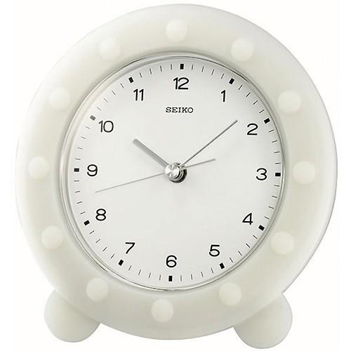 Table Clock Seiko QXG109W 153 X 16 2 X 105mm