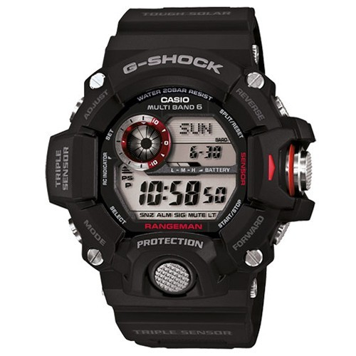 Casio Watch G-Shock Wave Ceptor GW-9400-1ER RANGEMAN