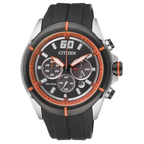 Reloj Citizen Eco Drive Crono CA4105-02E Caucho Hombre