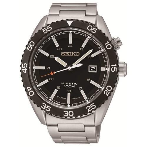 Reloj Seiko Neo Sports SKA617P1 Kinetic Acero Hombre