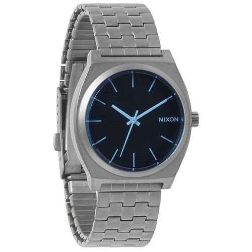 Nixon Watch A0451427 The Time Teller Steel Man