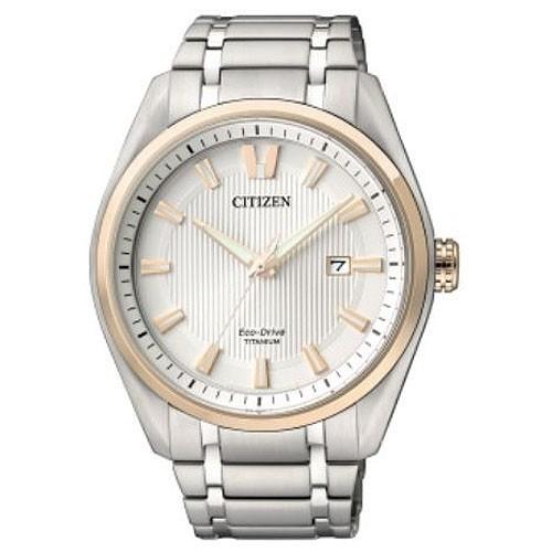 Reloj Citizen Eco Drive Super Titanium AW1244-56A Hombre