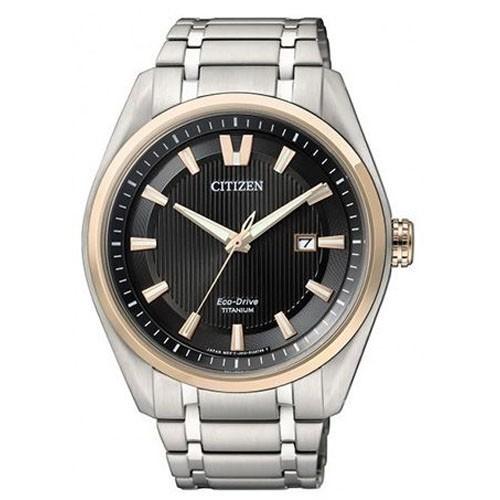 Reloj Citizen Eco Drive Super Titanium AW1244-56E Hombre