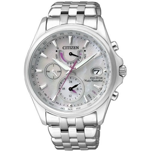 Citizen Watch Eco Drive Radio Controlled FC0010-55D Steel Woman