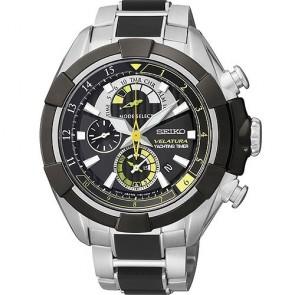 Seiko Watch Velatura SPC147P1 Chronograph Steel Man