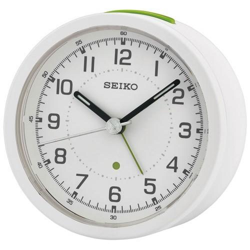 Reloj Despertador Seiko Alarma QHE096N (8,5x8,4x5cm)