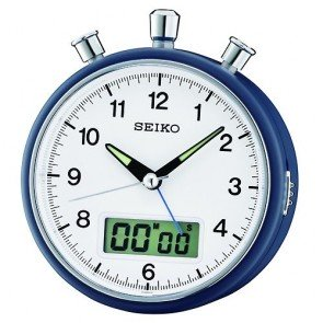 Alarm Clock Seiko QHE114L 119mm