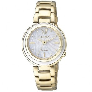 Citizen Watch Eco Drive Lady EM0336-59D Steel Woman