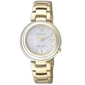 Reloj Citizen Eco Drive Lady EM0336-59D Acero Mujer