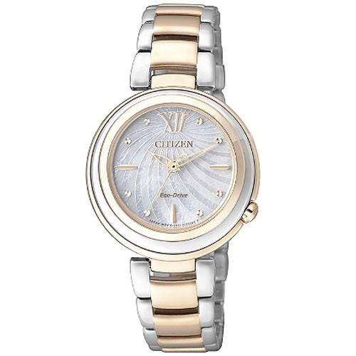 Reloj Citizen Eco Drive Lady EM0335-51D Acero Mujer