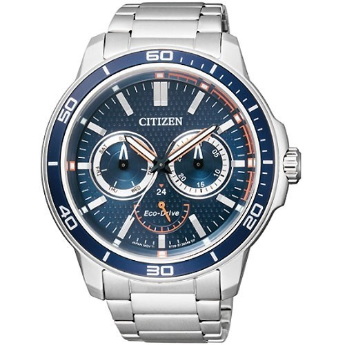 Reloj Citizen Eco Drive Marine BU2040-56L Acero Hombre