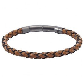 Pulsera Fossil JF01669001 Vintage Casual Hombre