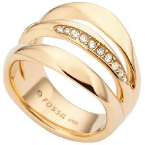Ring Fossil JF01615710505 Fashion Woman Size 13 mm