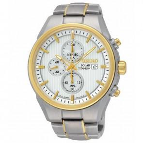 Reloj Seiko Solar SSC368P1 Cronografo Titanio Hombre