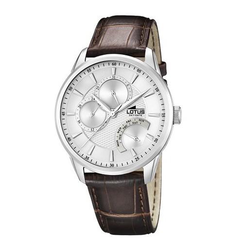 Lotus Watch 15974-1 Multifuntion Leather Man
