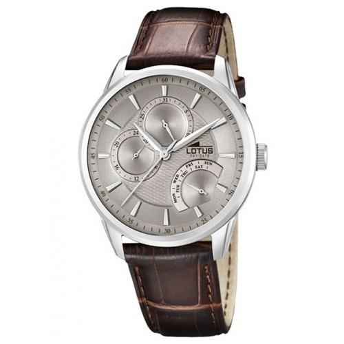 Lotus Watch 15974-2 Multifuntion Leather Man