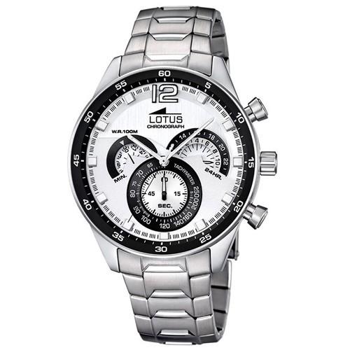 Reloj Lotus 10120-1 Cronografo Acero Hombre