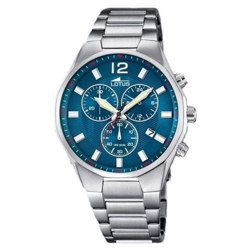 Lotus Watch 10125-3 Chronograph Steel Man