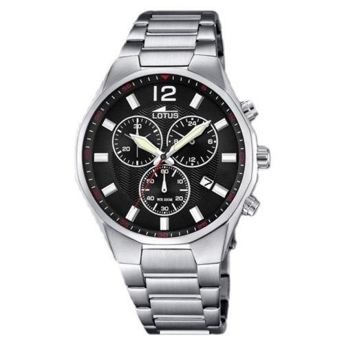 Lotus Watch 10125-4 Chronograph Steel Man