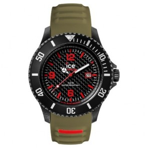 Ice Watch Watch Carbon CA.3H.BKA.B.S.15 Silicone Man