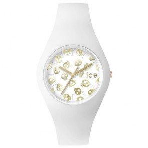 Ice Watch Watch ICE-Skull ICE.SK.WE.U.S.15 Silicone Unisex