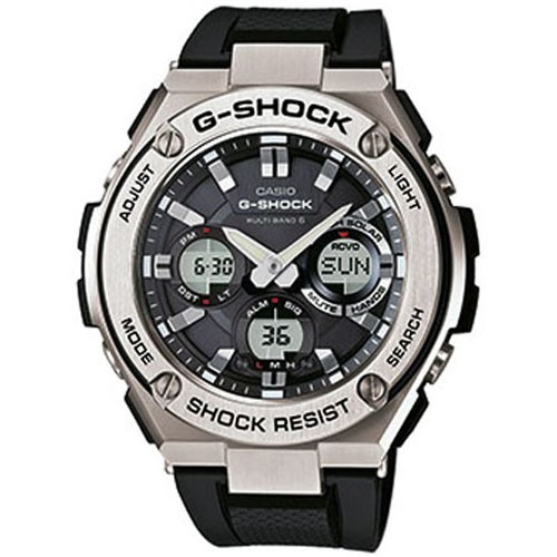Casio Watch G-Shock Wave Ceptor GST-W110-1AER G-STEEL