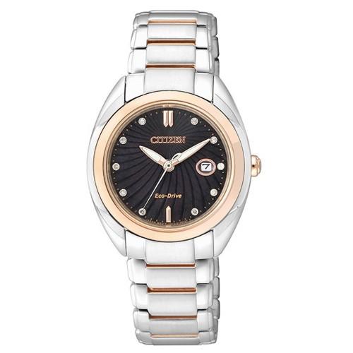 Reloj Citizen Eco Drive Diamonds EM0315-59E Acero Mujer