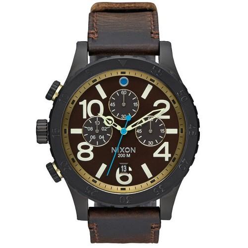 Reloj Nixon A3632209 The 48-20 Cronografo Piel Hombre