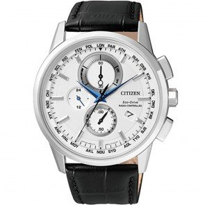 Citizen Watch Eco Drive Radio Controlled AT8110-11A Leather Man