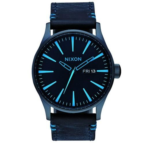 Reloj Nixon A1052224 Sentry Leather