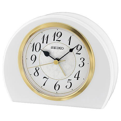 Table Clock Seiko QXE054W 10,5 X 13,3  X 4,5 cm