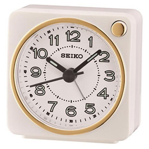 Table Clock Seiko QHE144W 5,8 X 5,7 X 3,4 cm